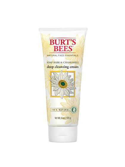Calming Beauty Products: Burt's Bees Soap Bark & Chamomile Deep Cleansing Cream | allure.com