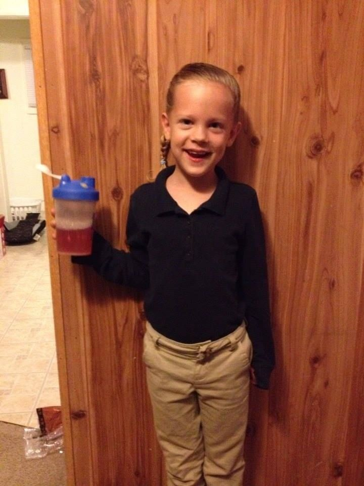 """Please feel free to share our testimony: Today is National Autism Awareness Day! Hannah was diagnosed with Autism when she was 3, life was pretty rough and hard until she started taking Plexus. She says """"plexus makes my tummy happy!"""" We have seen significant changes in Hannah's behavior and focus in school. Hannah will be 6 in May. Our family is so thankful for our precious daughter and the blessing Plexus has been in our lives! #plexus #autism #pinkdrink www.carrierae.myplexusproducts.com"""