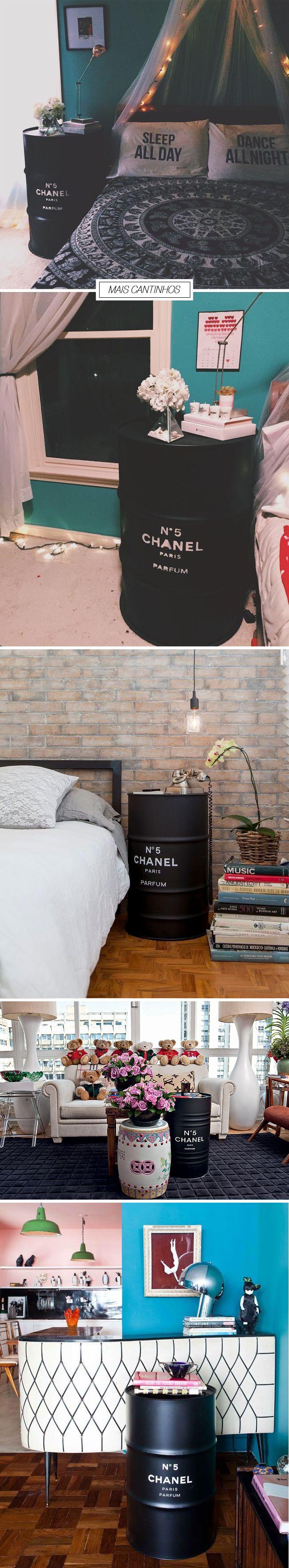barril chanel - DIY