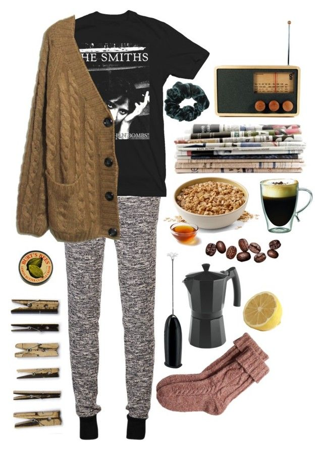 to continue by sara-roach on Polyvore featuring rag & bone, Fat Face, Burt's Bees, Areaware, Starfrit, Bodum and Laundry