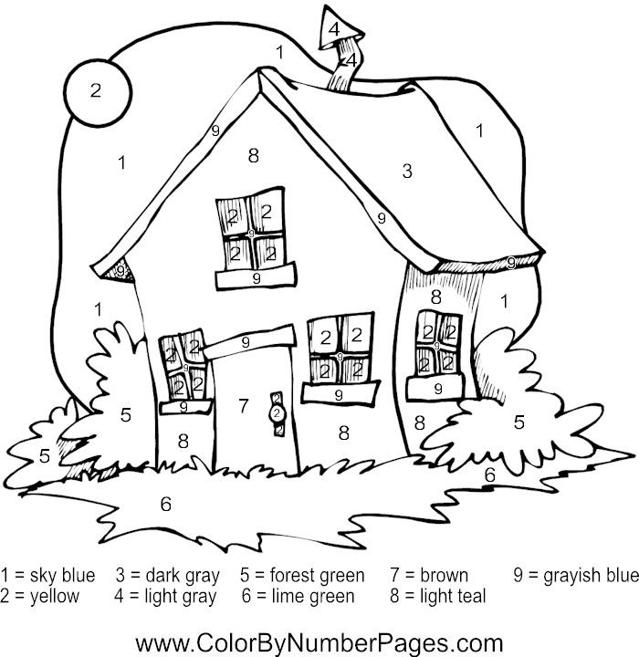 Pin by Kimberly-Frances on alreadyfelt houses Pinterest Card ideas - new coloring pages numbers 1
