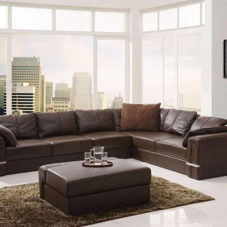 25+ Best Ideas About Leather Sectional Sofas On Pinterest