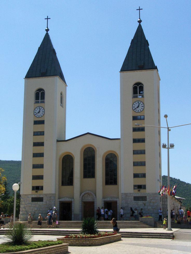 St. James Church, Medjugorje, Bosnia and Hercegovina