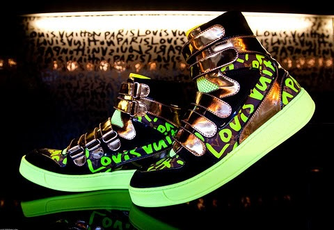 Louis Vuitton Graffiti Sneaker Boot - Dang if only I had a spare thousand bucks laying around.