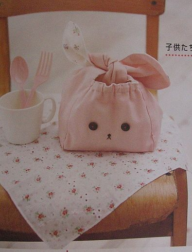 Bunny bag! (from a 2007 Cotton Time magazine)