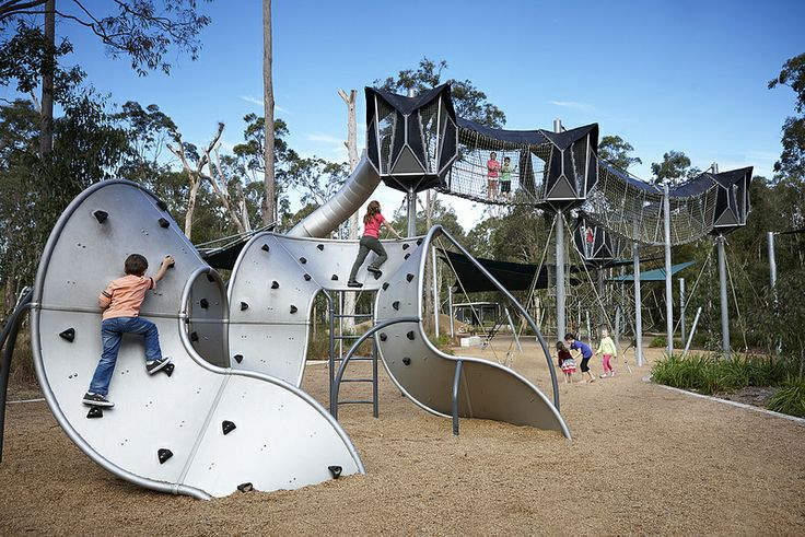 One for the kids at Calamvale District Park, Calamvale.