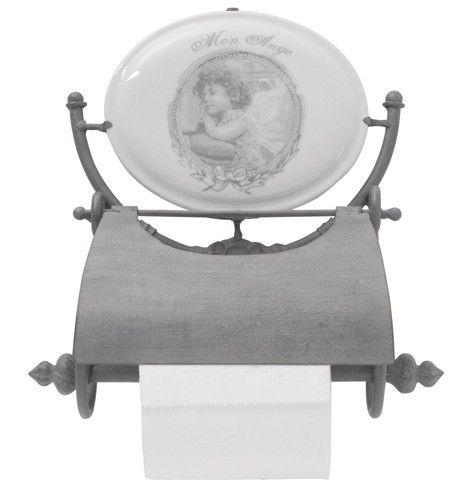Wieszak na papier toaletowy Mon Ange - BelleMaison.pl