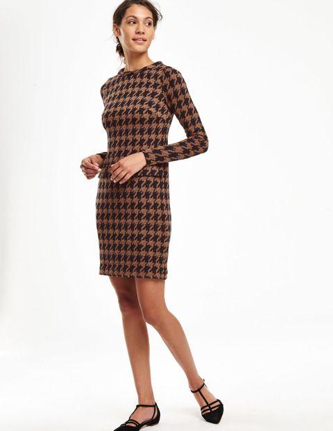 Sixties Jacquard Tunic Dress