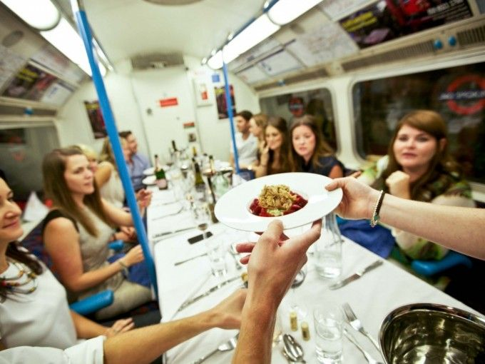 "Enjoy a multi-course tasting menu on an iconic London Underground Carriage! Join professional chef Alex on London's original ""Underground dining"" experience, hosted for an intimate group of diners in one of London's most unique & exclusive venues, a historic, decommissioned 1967 Victoria Line tube carriage! An exclusive opportunity to indulge in high end culinary delights & make friends with locals. You'll definitely have something to talk about. We'll even have a delicious on-site bar for…"