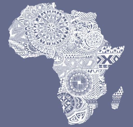 LOVE AFRICA MISSION TRIP shirt design - zoomed