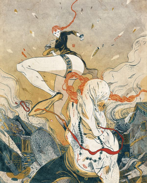 New Illustrations from Victo Ngai   Visual News