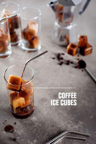 кофейные кубики льда