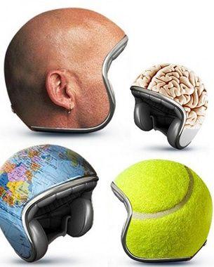 capacetes curiosos