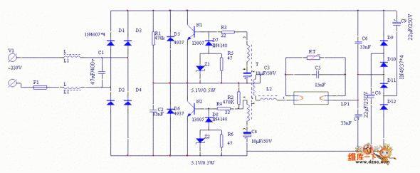 Wiring Diagram For Electronic Ballast