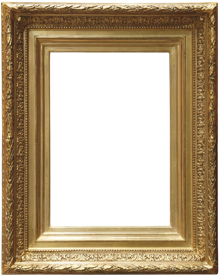antique gold frame - Empty Picture Frame