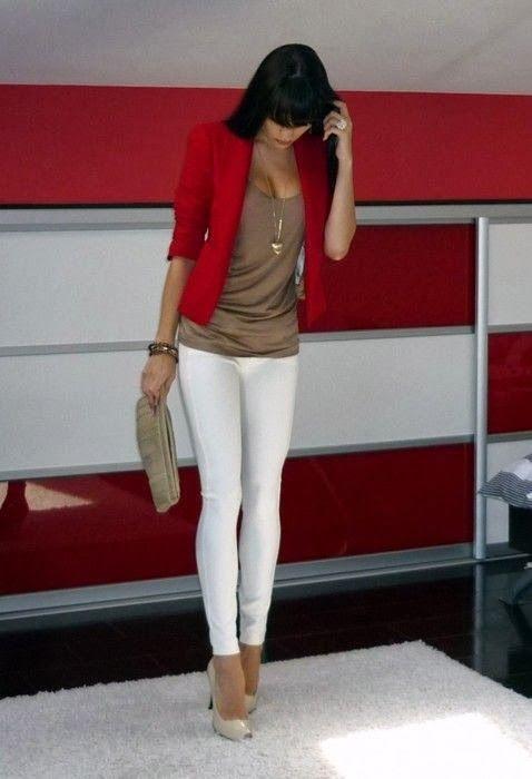 white red tan