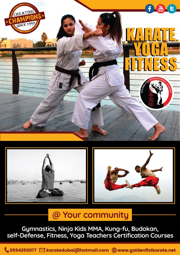 #UAE #Parents: Checkout our featured listed #KarateAcadem: Golden Fist International Karate Academy  Find them on our platform: http://connect.ae/f/golden-fist-karate-club:er0211750  #Karate #Yoga #Fitness #Dubai #ConnectUAE