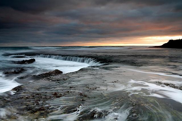 ocean waterfall, Portsea Ocean Beach