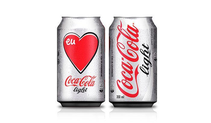 """Do you like it or love it? I love Coca-Cola Light!"""