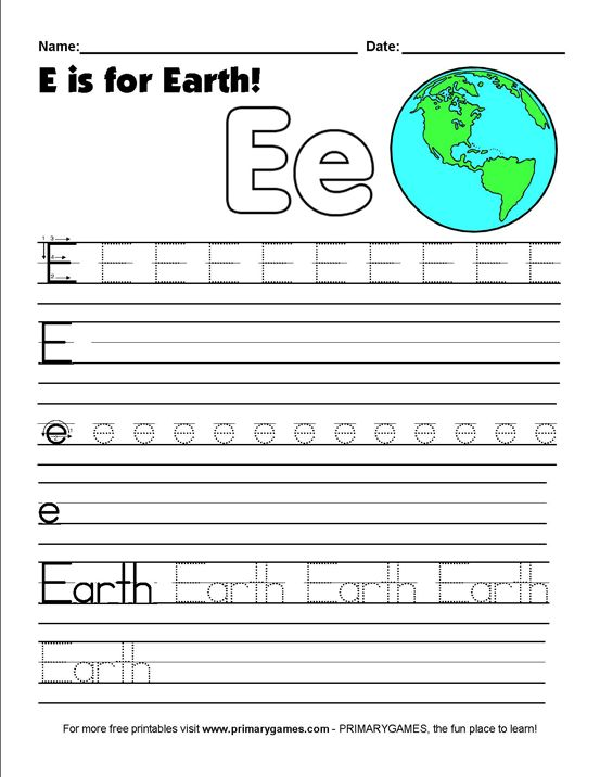 earth day worksheets e is for earth ecology worksheets and earth. Black Bedroom Furniture Sets. Home Design Ideas