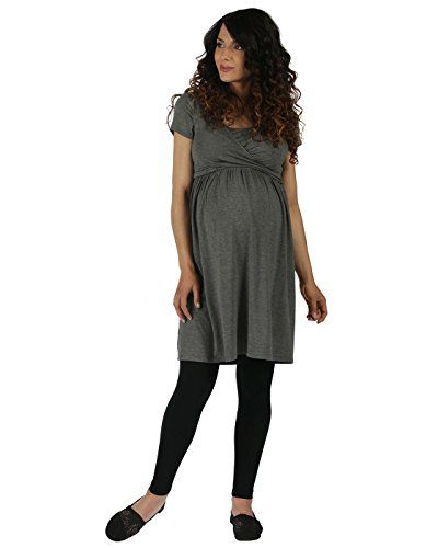 The Essential One  Womens Maternity Short Sleeve Nursing Dress Small 46 >>> Read more reviews of the product by visiting the link on the image.Note:It is affiliate link to Amazon.