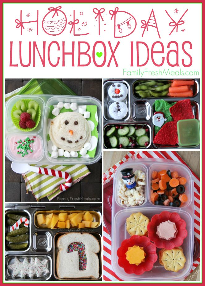 Holiday Lunchbox Ideas School HolidaysKids HolidaysChristmas Lunch