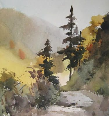 Art Of Watercolor: Some Watercolor Beauty