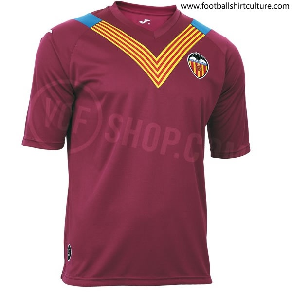 Valencia CF 2012 Joma Senyera special edition football shirt // PURE CLASS