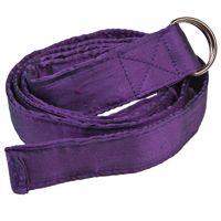 Shot Silk Belt - Suitable for Vegans - Purple