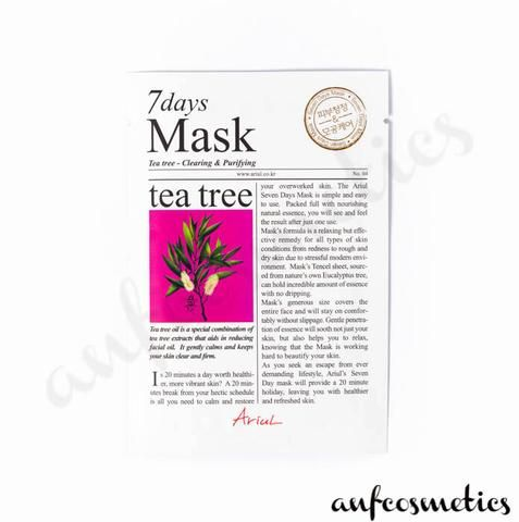 Ariul 7 days mask tea tree