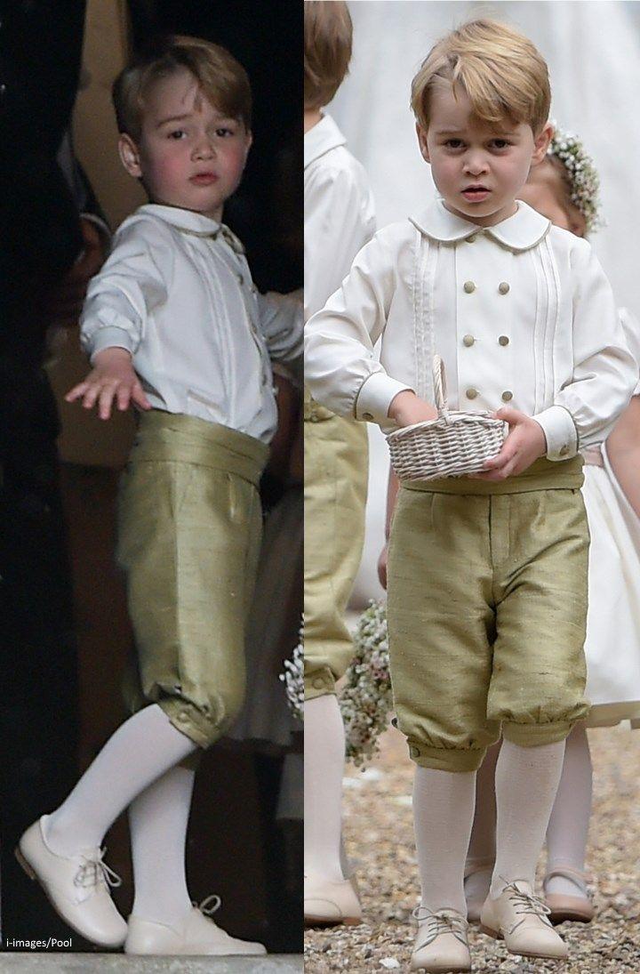 hrhduchesskate: Wedding of Philippa Middleton and James Matthews, May 20, 2017-Prince George