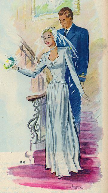 Vintage Bride 1944-(via File Photo)- on Flickr.