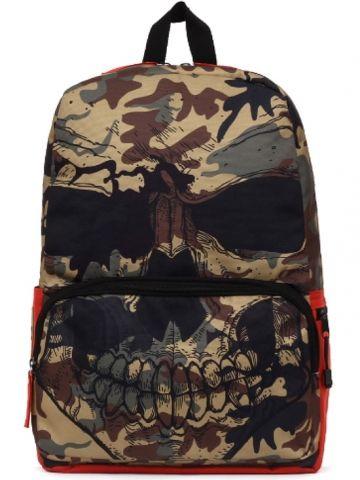 """Camo Mr. Peterson"" Backpack by Mojo Backpacks (Camo) #InkedShop #InkedMag #Camo #Backpack #Skull"