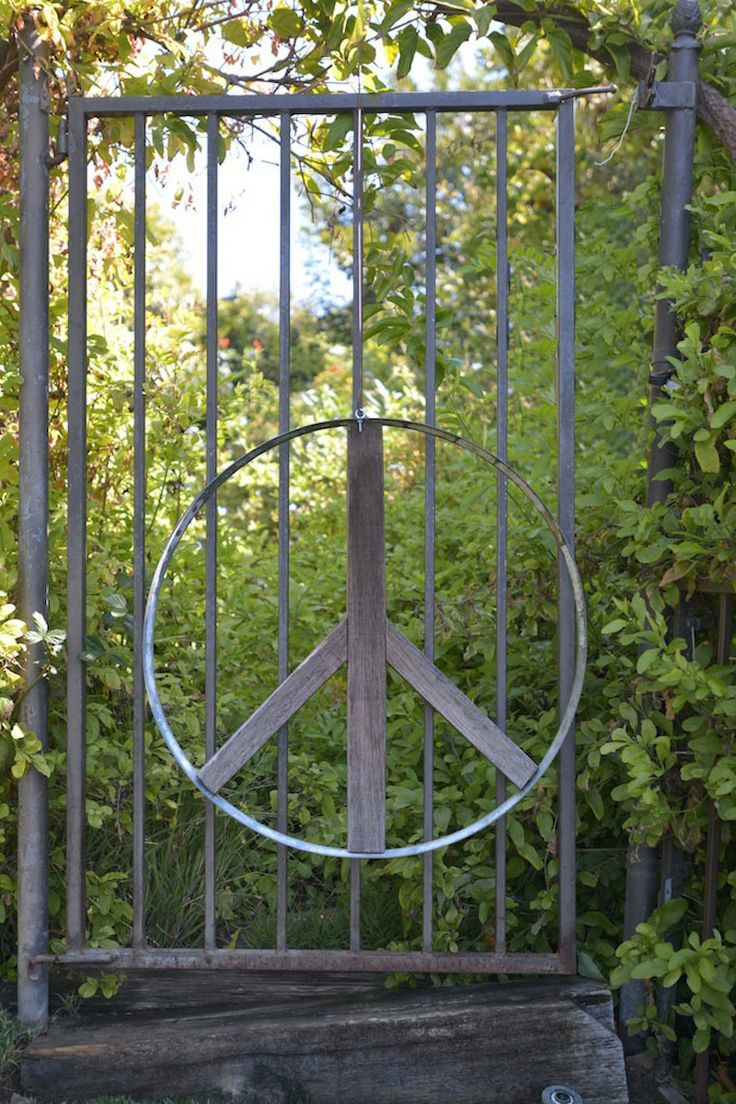 Peace Sign | Outdoor Living