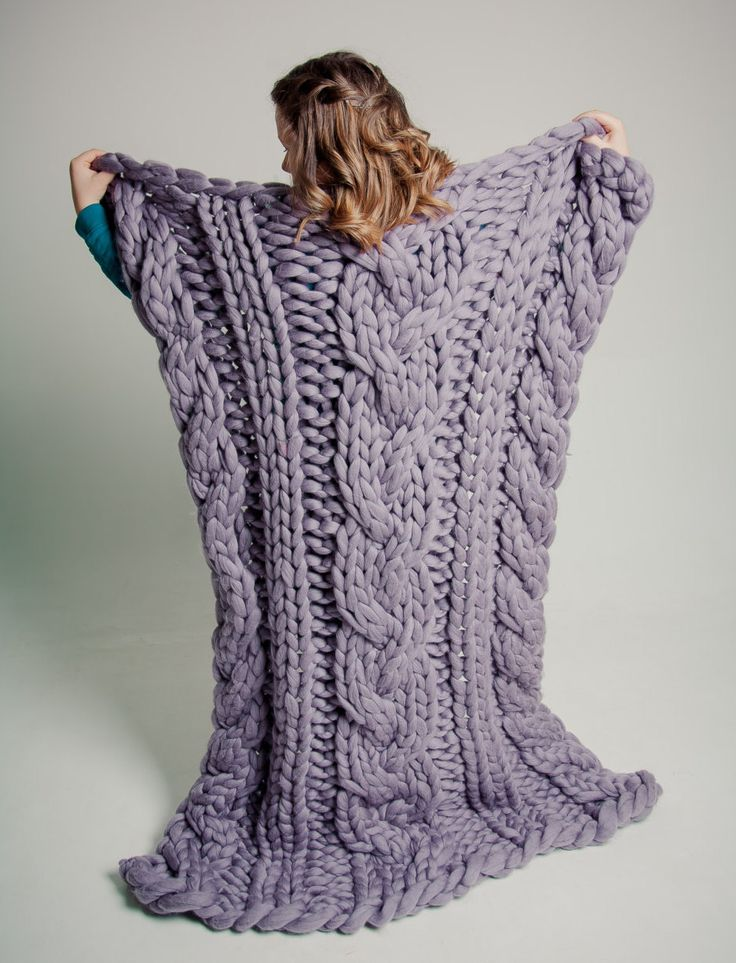 Cable Chunky Knit Blanket Wedding gift Home Decor Anniversary Gift Merino Wool Cable Knit Throw Hand Cable Knit Blanket Gift Mother's Day