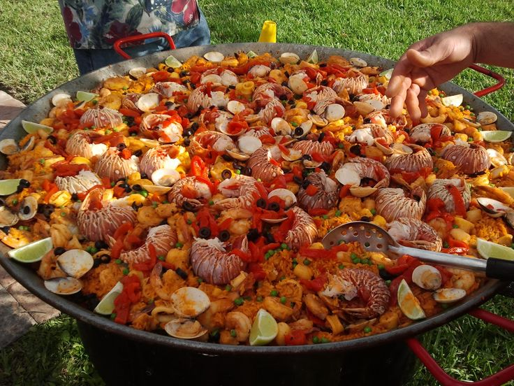 Paella Real - Cooked by Youry