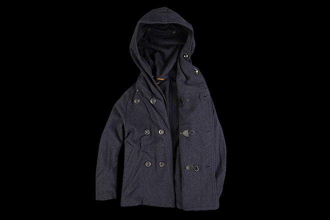 Kapital 40S Tri Pea Coat