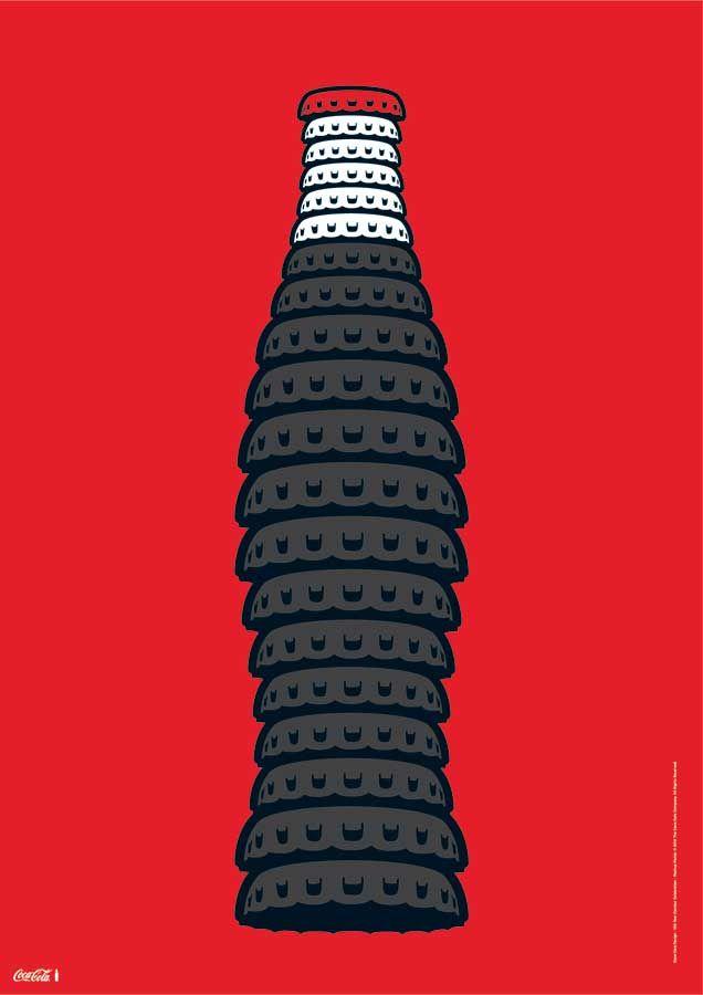 Slideshow: Designers Reimagine Classic Coke Bottle Artwork: The Coca-Cola Company