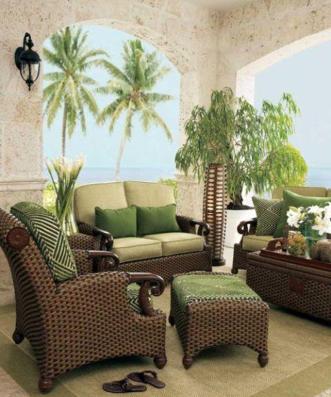 мебель из ротанга, плетеная мебель из ротанга, уход за ротанговой мебелью