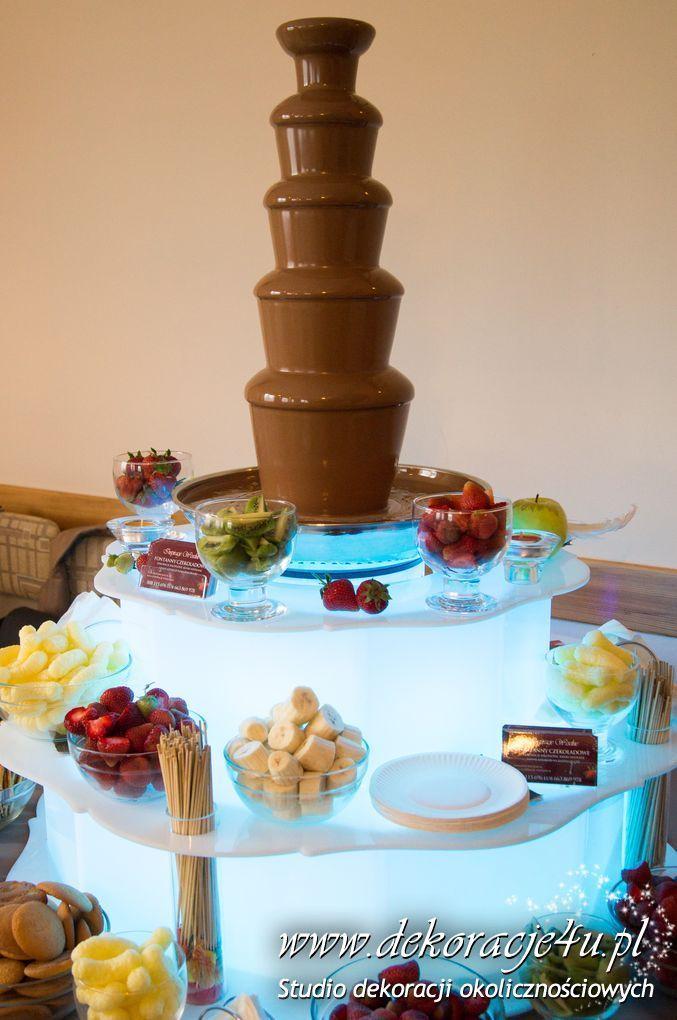 Co za widok a jaki smak czekolady - www.inspiracje-weselne.pl