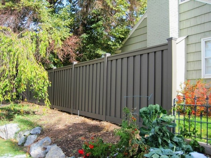 Best Wpc Outdoor Fence Images On Pinterest Fence Panels