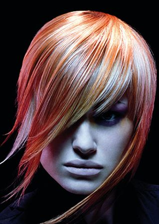 fashion hair color pink hair punk hairstyles