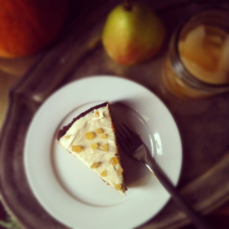 Whole Wheat Pumpkin-Pear Cake with Ginger-Cream Cheese Frosting ...
