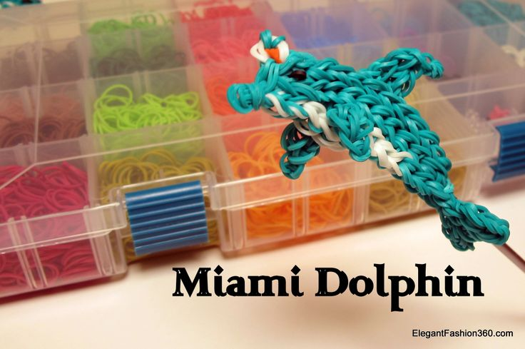 Rainbow loom dolphin - photo#45