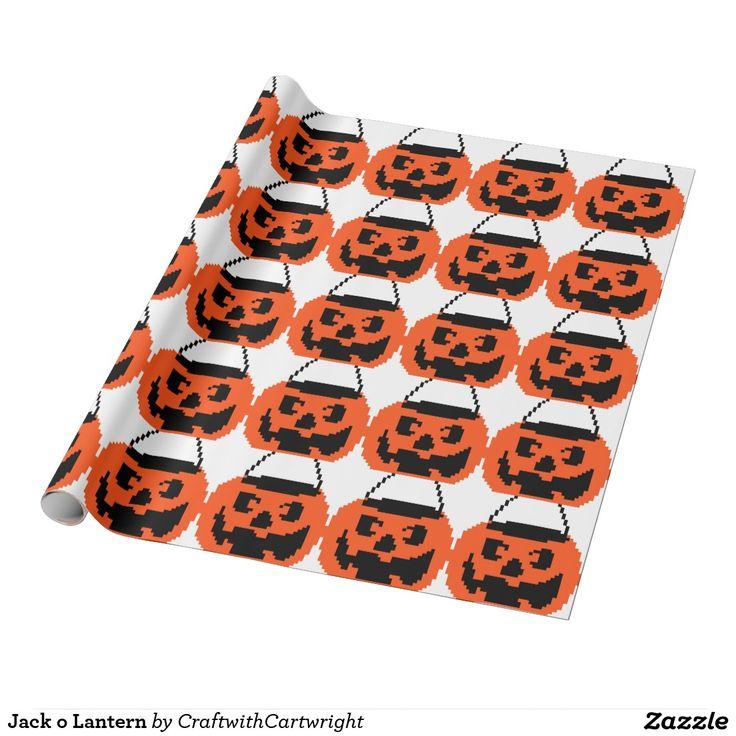 Jack o Lantern wrapping paper £14.85