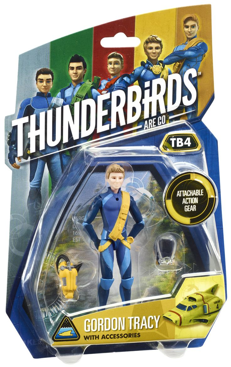 "Thunderbirds 3.75"" Action Figure - Gordon Tracy 