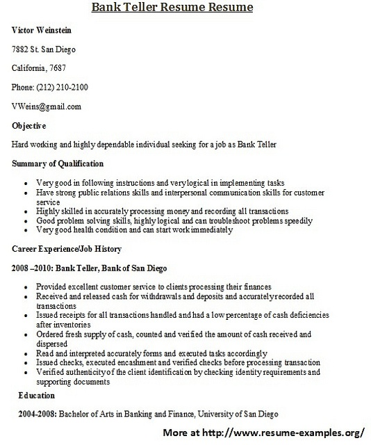 How To Write A Resume For A Job  Resume Writing And