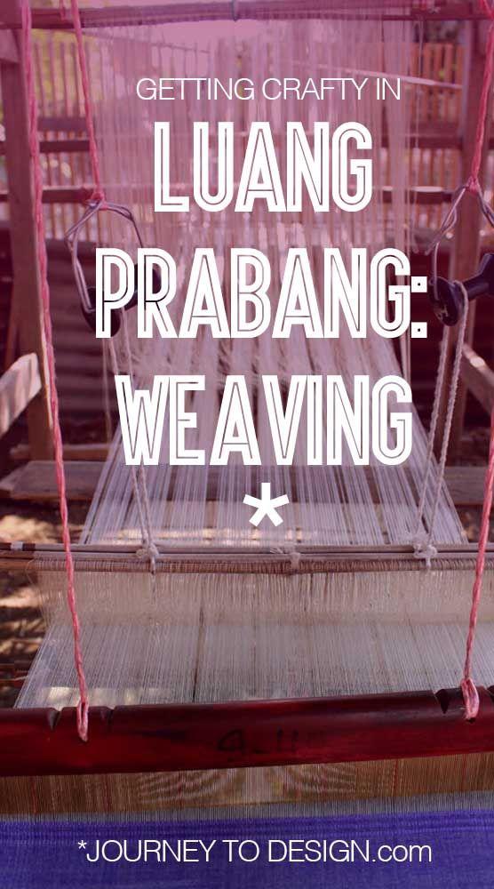 * crafty in Luang Prabang: taking a lao weaving class