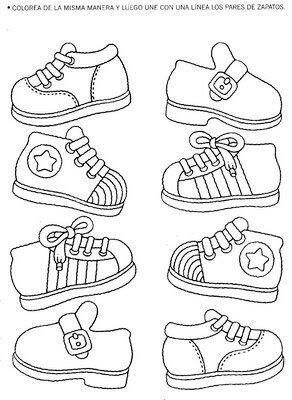 spoj stejné boty