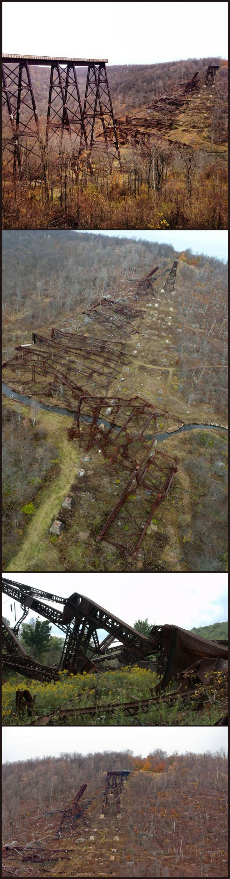 Kinzua Bridge: Once the World's Longest Railroad Bridge, Destroyed by Tornado